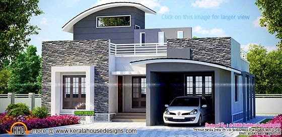 Modern single floor home