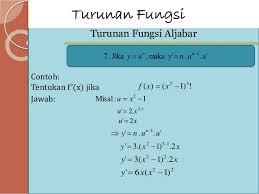 Contoh Soal Matematika Turunan Fungsi Aljabar Kelas Xi Sma Smk Kurikulum 2013 Dan Pembahasannya Kumpulan Soal Ujian