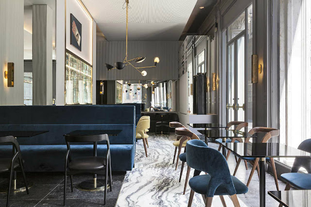 Designer Restaurants To Not Miss Ta Milano Designed By Vincenzo De Cotiis
