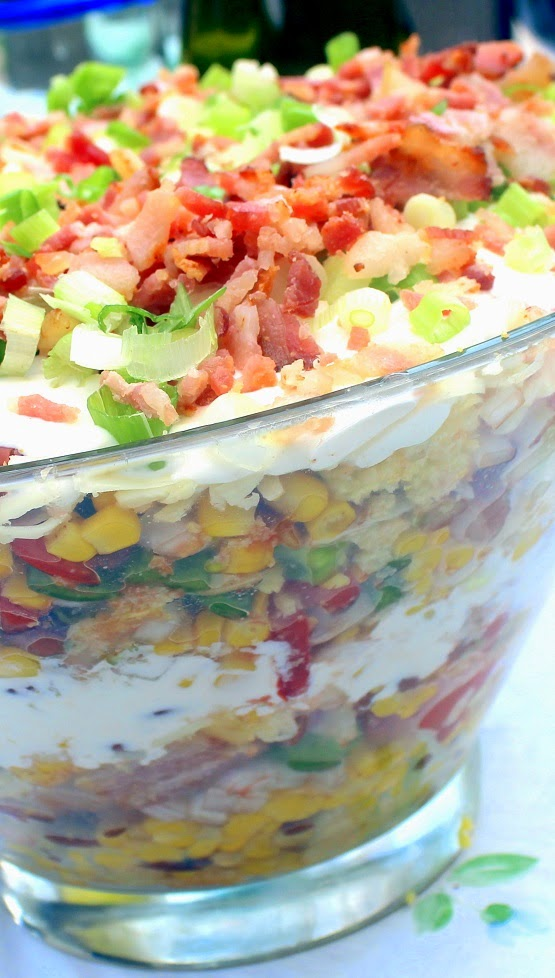 52 Ways To Cook Cowboy Cornbread Trifle A Savory Bacon Side
