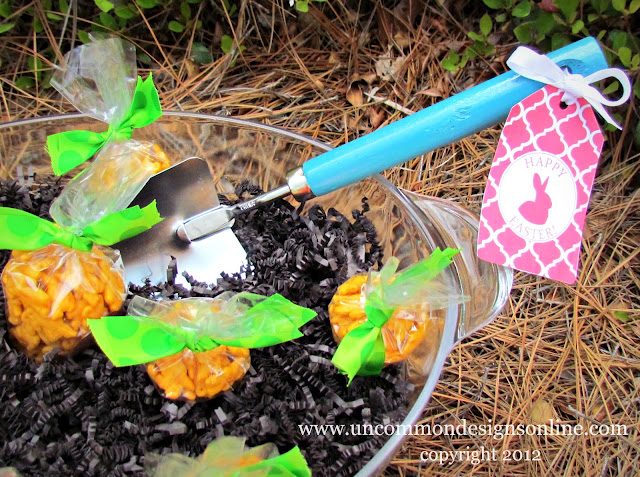 DIY Easter Garden Carrot Patch! #easter #eastertreat #kidsactivity #spring