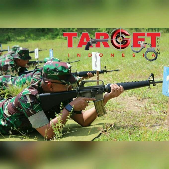 Prajurit TNI AD Kodim 0718 Pati Harus Ahli Menembak Pistol Dan Senapan Serbu