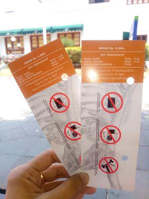 harga tiket masuk ke museum geologi bandung