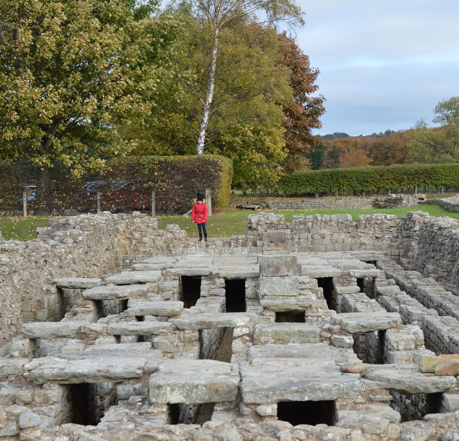 10 Reasons to Stay at Matfen Hall in Northumberland with Kids  - Corbridge Roman Town