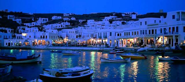 O que fazer a noite em Mykonos, Grécia