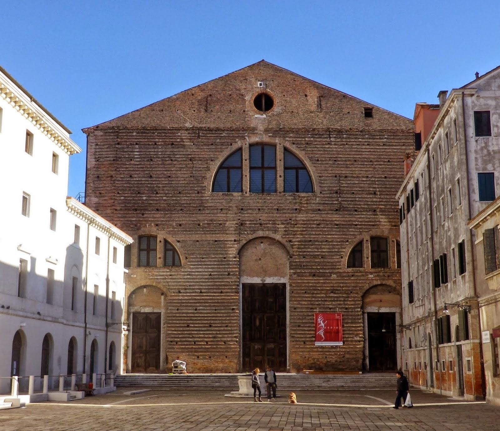The church of San Lorenzo, Venice