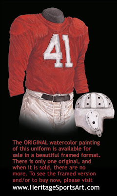 1947 Chicago Cardinals uniform