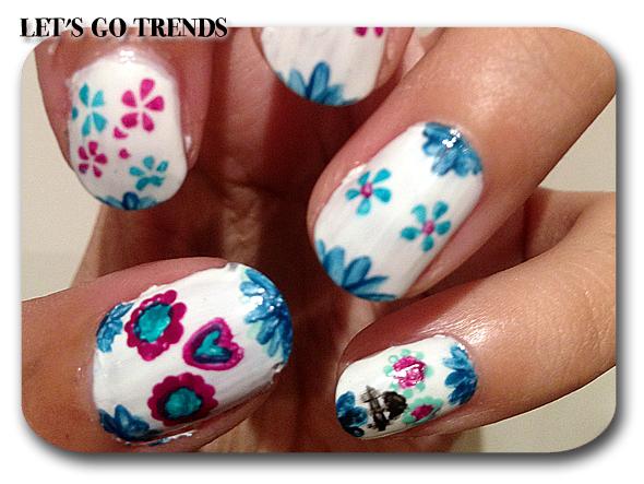 Reto Halloween Nails. 1 La Catrina | Let's Go Trends