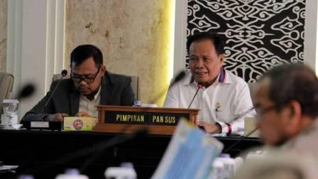 DPRD Jabar Bahas LKPJ Gubernur Akhir Tahun Anggaran2018