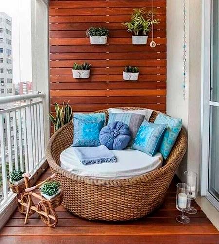varanda de apartamento