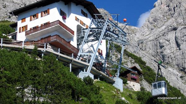 Teleférico de Eisriesenwelt (Werfen, Austria)