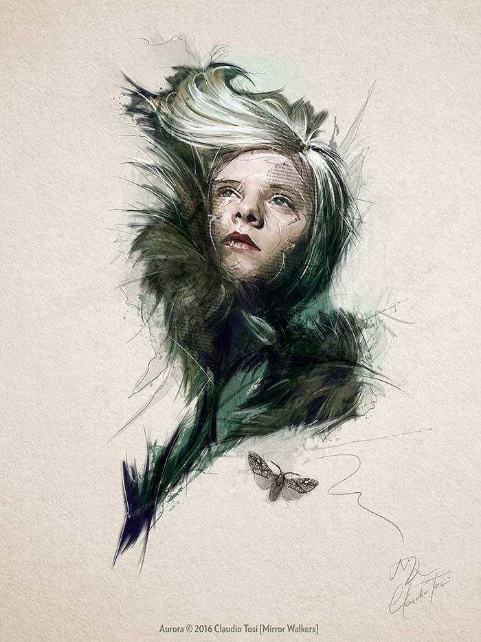 Ilustración de Claudio Tosi