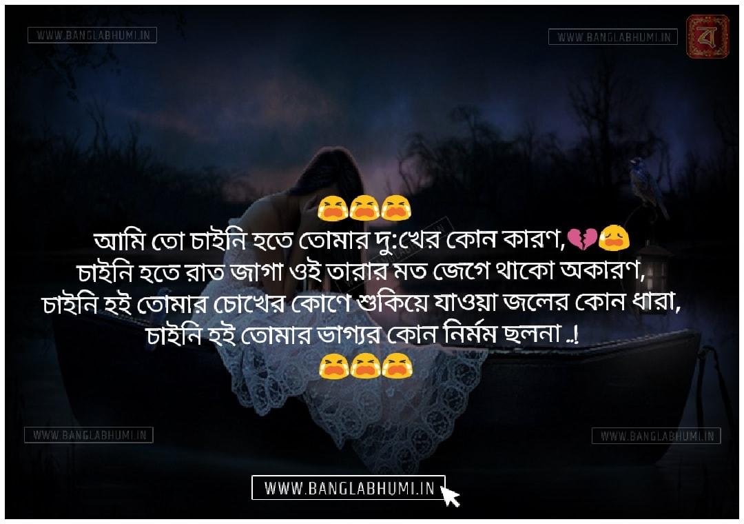 Bangla Sad Love Shayari Status Free Download and share