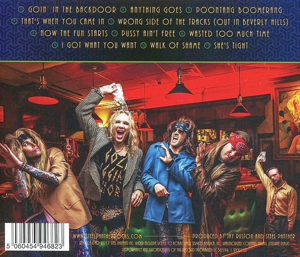 STEEL PANTHER - Lower The Bar (2017) back