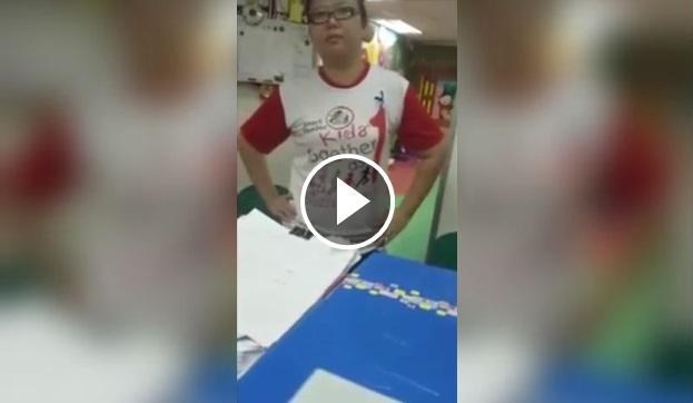 Ibarat 3 Jam Di Neraka Bagi Anak-Anak Yang Baru Nak Kenal ABC (Video)