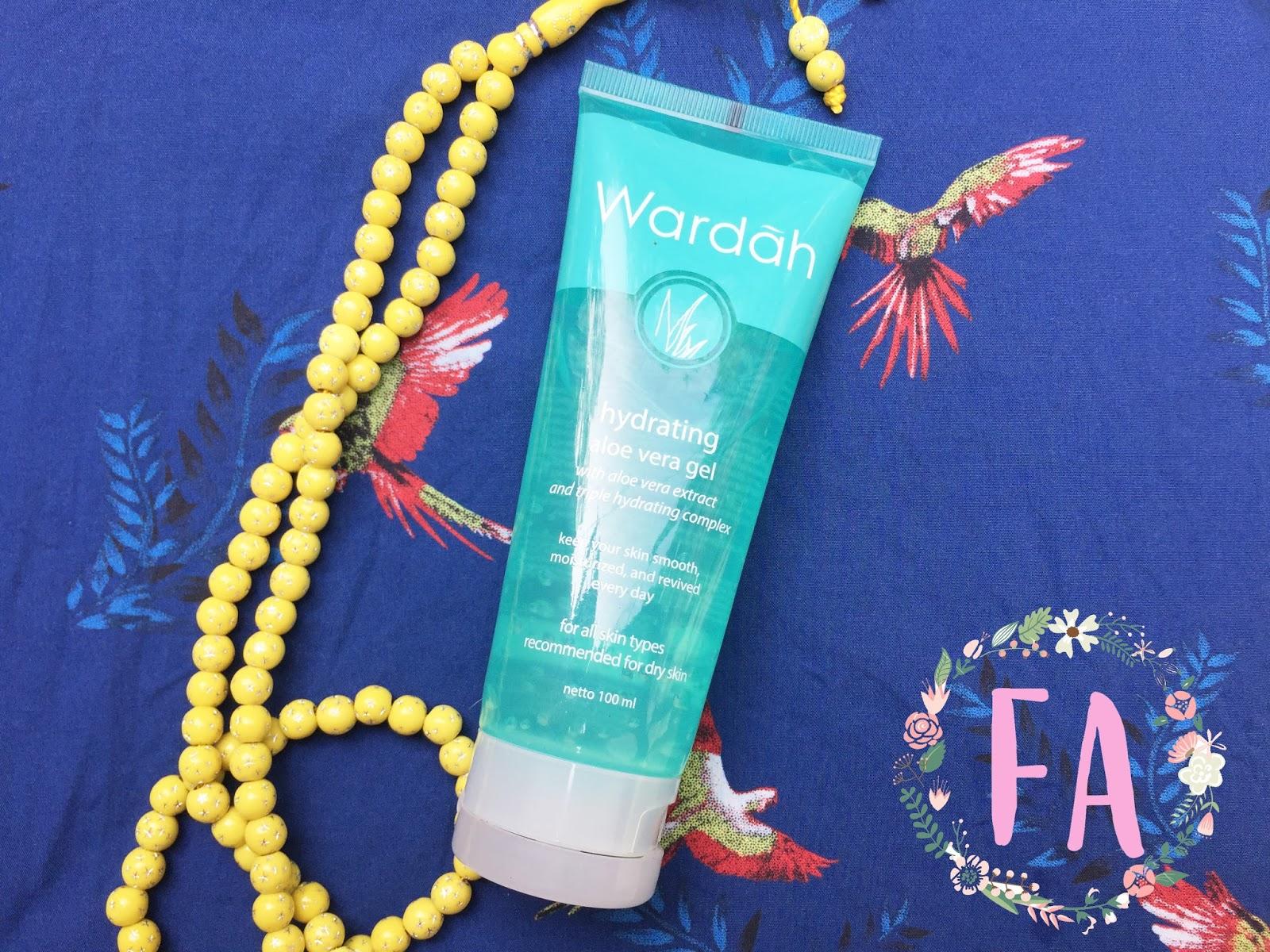 Wardah Hydrating Aloe Vera Gel Review