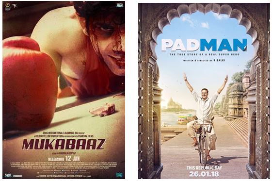 Kickstart #2018 With The Best #Bollywood Films @SterKinekor Cinemas #January2018