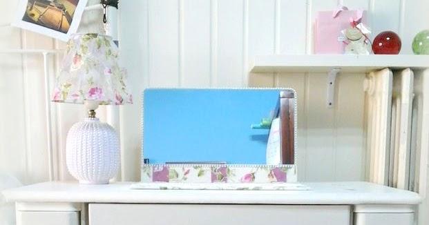 El desv n de los trastucos mueble de m quina de coser convertido en tocador - Muebles el desvan ...