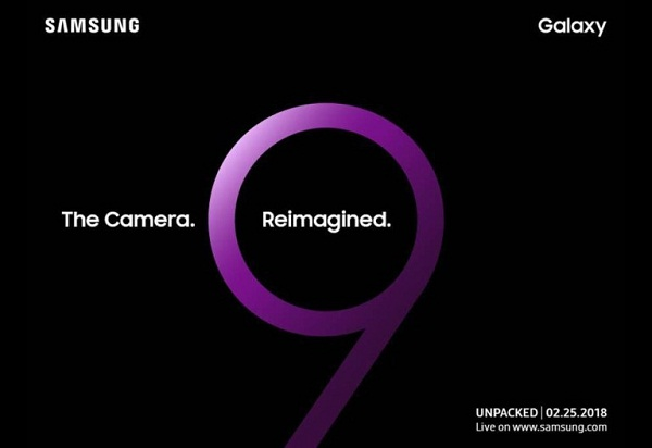 Samsung Galaxy S9 Officially Released on February 25th