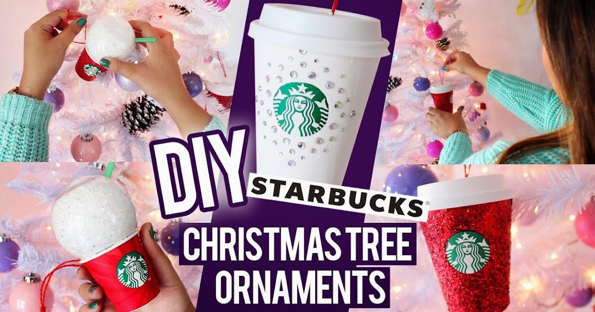 Hellomaphie Diy Starbucks Ornaments ★ Christmas Tree