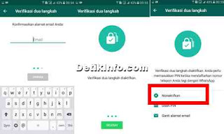 cara aktifkan dan nonaktifkan verifikasi 2 langkah whatsapp