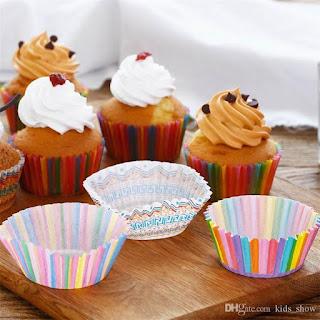 Cupcake Box Rainbow