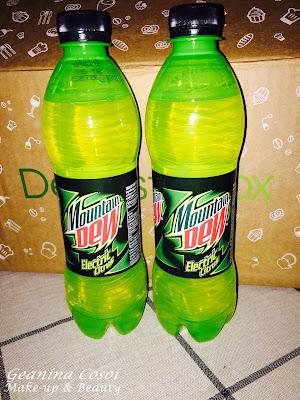 Pepsico Mountain Dew Degustabox Enero 2016