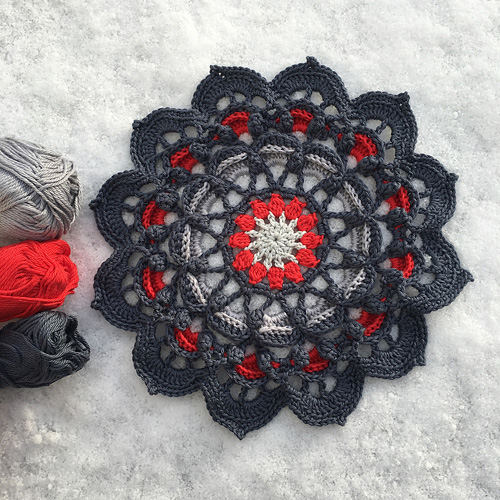 Frozen Lotus - Free Pattern