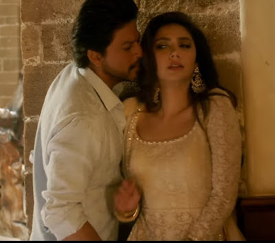 Mahira khan Sharara dress in Raees