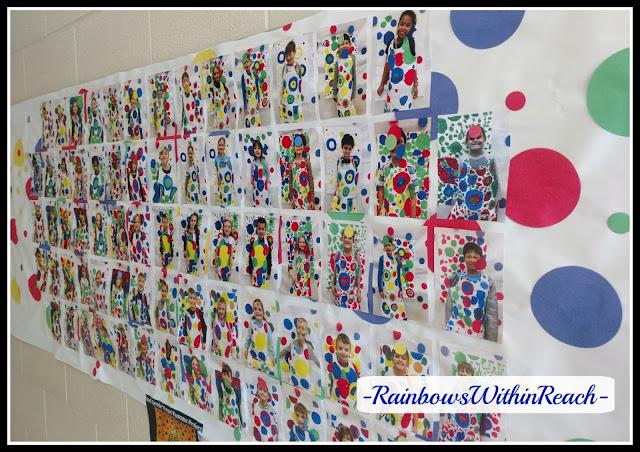 Kusama Artist Study in 2nd Grade: Polka Dot Palooza