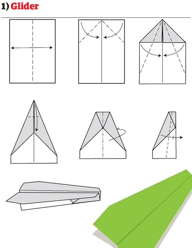 12 Cara Membuat Kapal Terbang Kertas