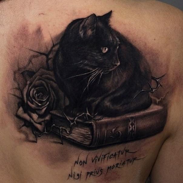 Tatuajes De Gatos En Acuarela Pequenos