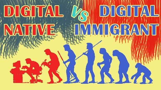Era Digital Native dan Digital Immigrant  Pengertian Digital Native dan Digital Immigrant