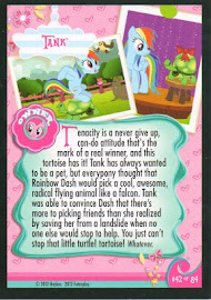 My Little Pony Tank Series 1 Trading Card