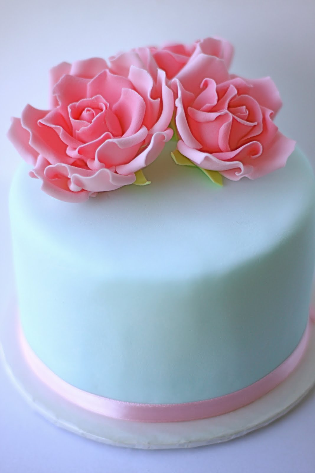 Sweet Art Cakes by Milbreé Moments: English Rose Mother's Day cake