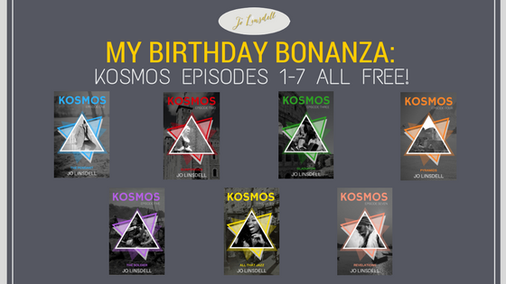My Birthday Bonanza: #KOSMOS Episodes 1-7 #FREE