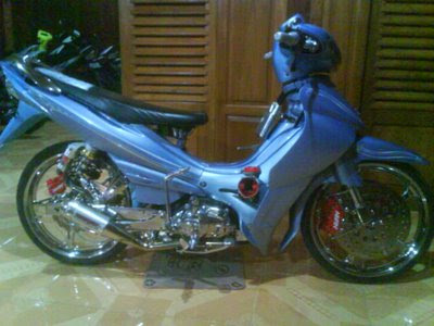 Foto Gambar Modifikasi New Jupiter Z Yamaha Jupiter Z Modifikasi Minimalis 400x300