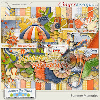 Summer Memories by Across the Pond_Designs by Seatrout Scraps and Mandy King