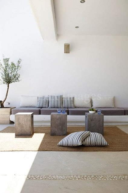 More Ideas for Decorating With Concrete Blocks 10