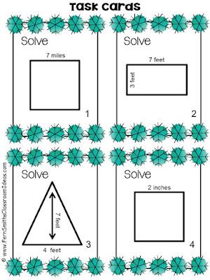 Fern Smith's Classroom Ideas Winter Area Task Card, Recording Sheets and Answer Keys at TeachersPayTeachers, TpT.