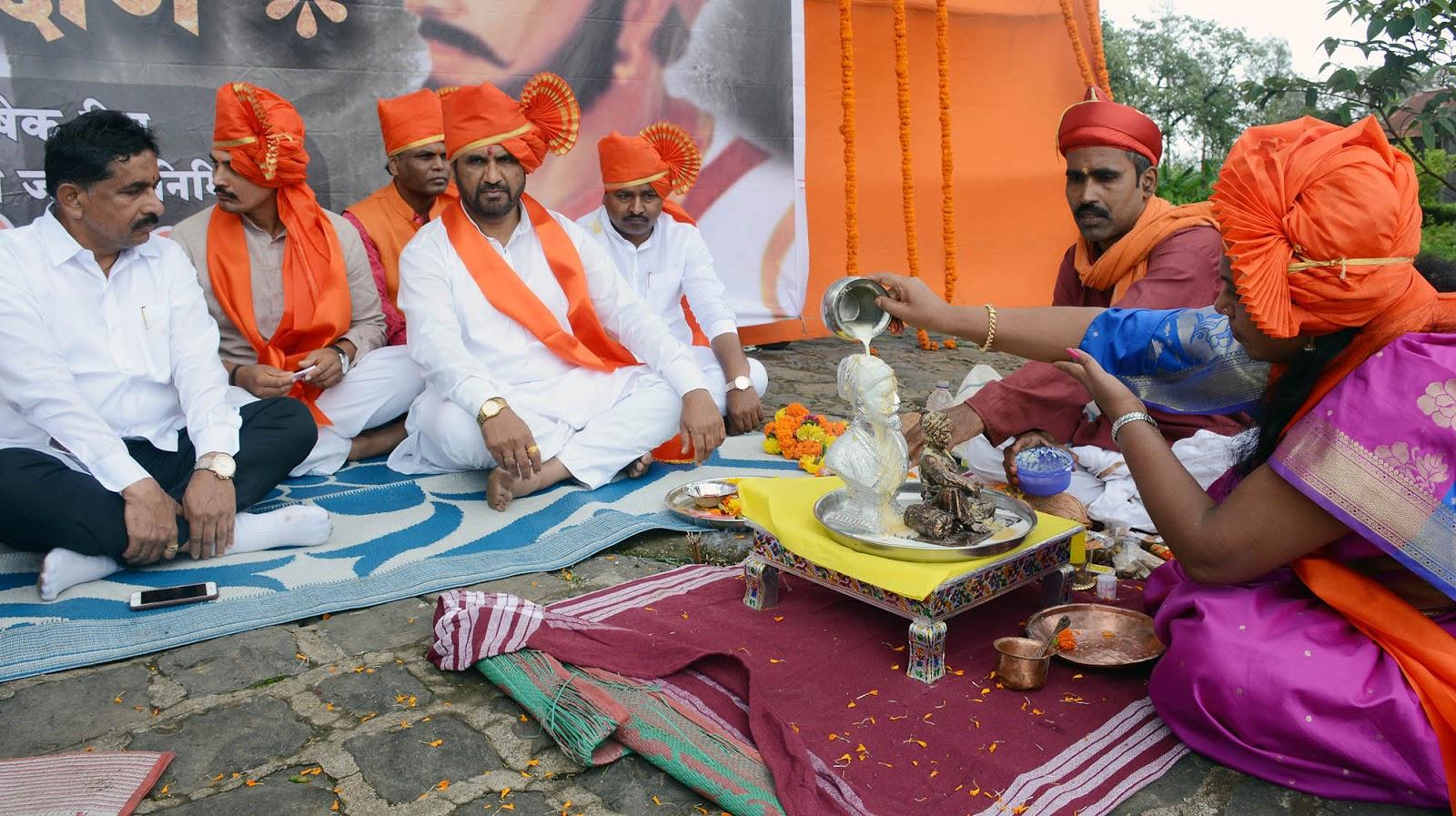 Shivaji Maharaj's coronation ceremony at Sinhgad ~ www pune
