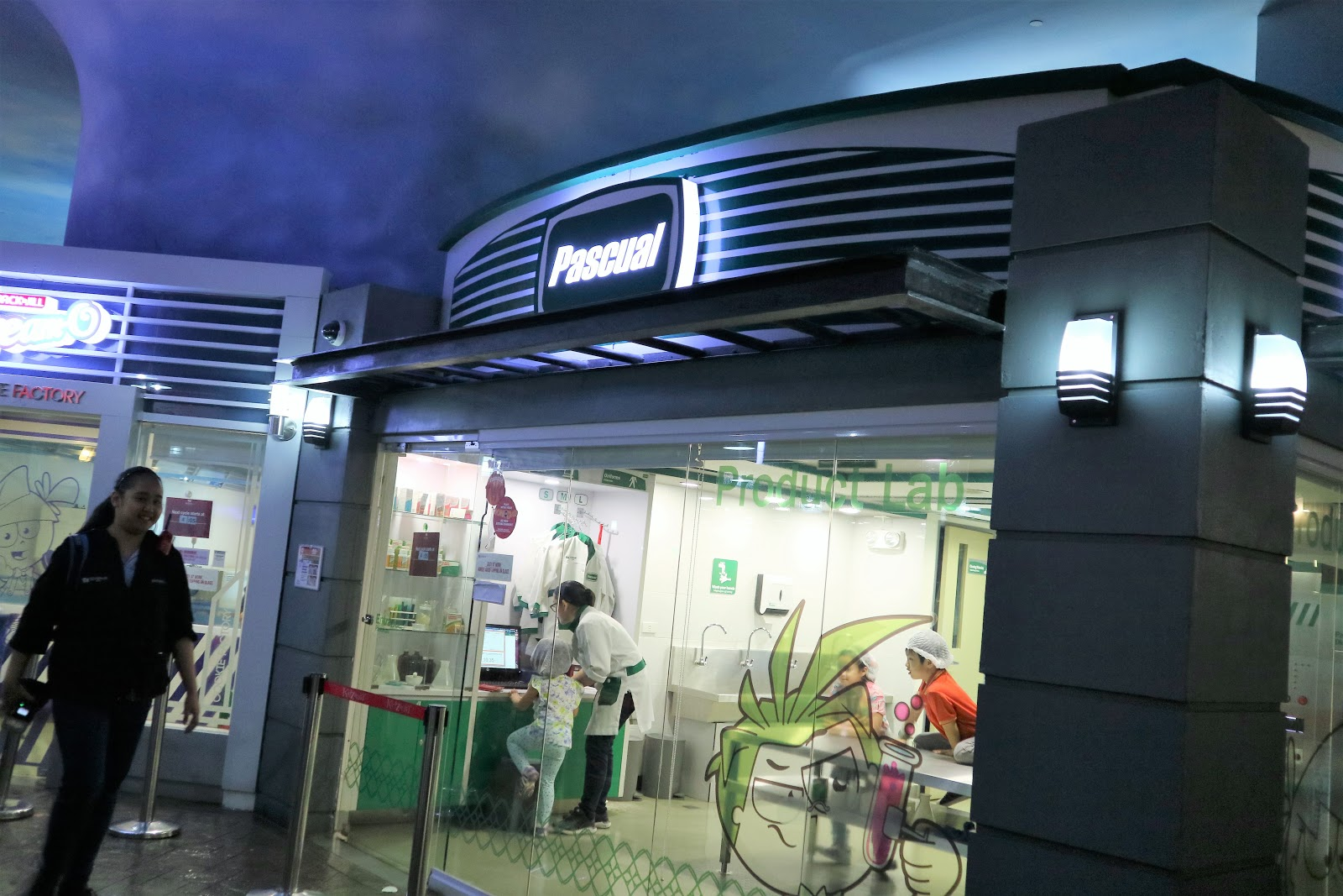 Pascual Lab in KidZania Manila