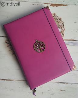 libreta artesanal bloc de notas encuadernación en piel