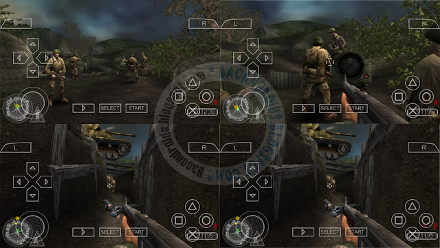 Game Call Of Duty Roads To Victory ISO For PPSSPP Android