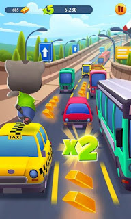 Free Download Talking Tom Gold Run Mod Apk v1.0.12.892 (Infinite Gold Bars)
