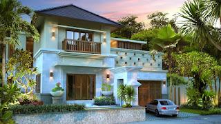 memiliki ciri khas rumah tradisional hindu namun untuk sekarang bisa membuat rumah tampak Ciri Khas Membuat Desain Rumah Bali Sederhana dan Contoh Gambar