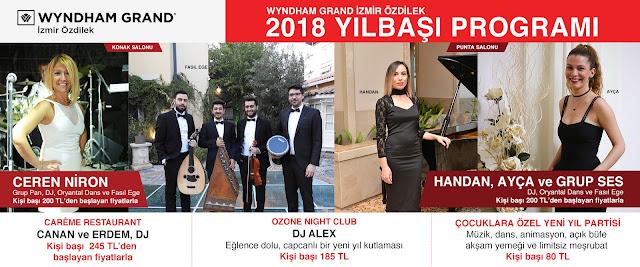 2018 yılbaşı programları, izmir yılbaşı, yılbaşı, 2018 yeni yıl, konserler, izmir etkinlik, yeni yıl, programlar, sanatçı, hangi sanatçı, hangi otelde, izmir yılbaşı, 2018 yeniyıl