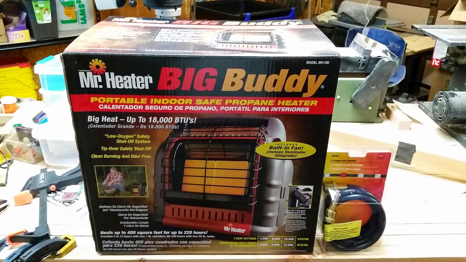 Big Buddy By Mr Heater Diy Hobbyist