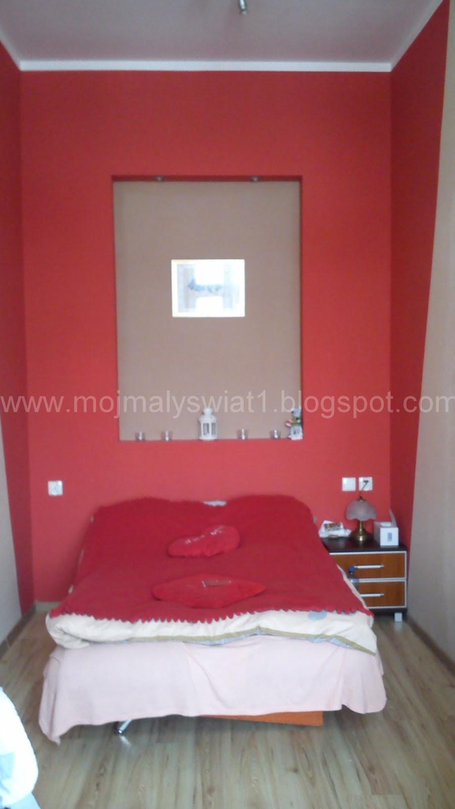 Sypialnia W Czerwieni Mama Kreatywna