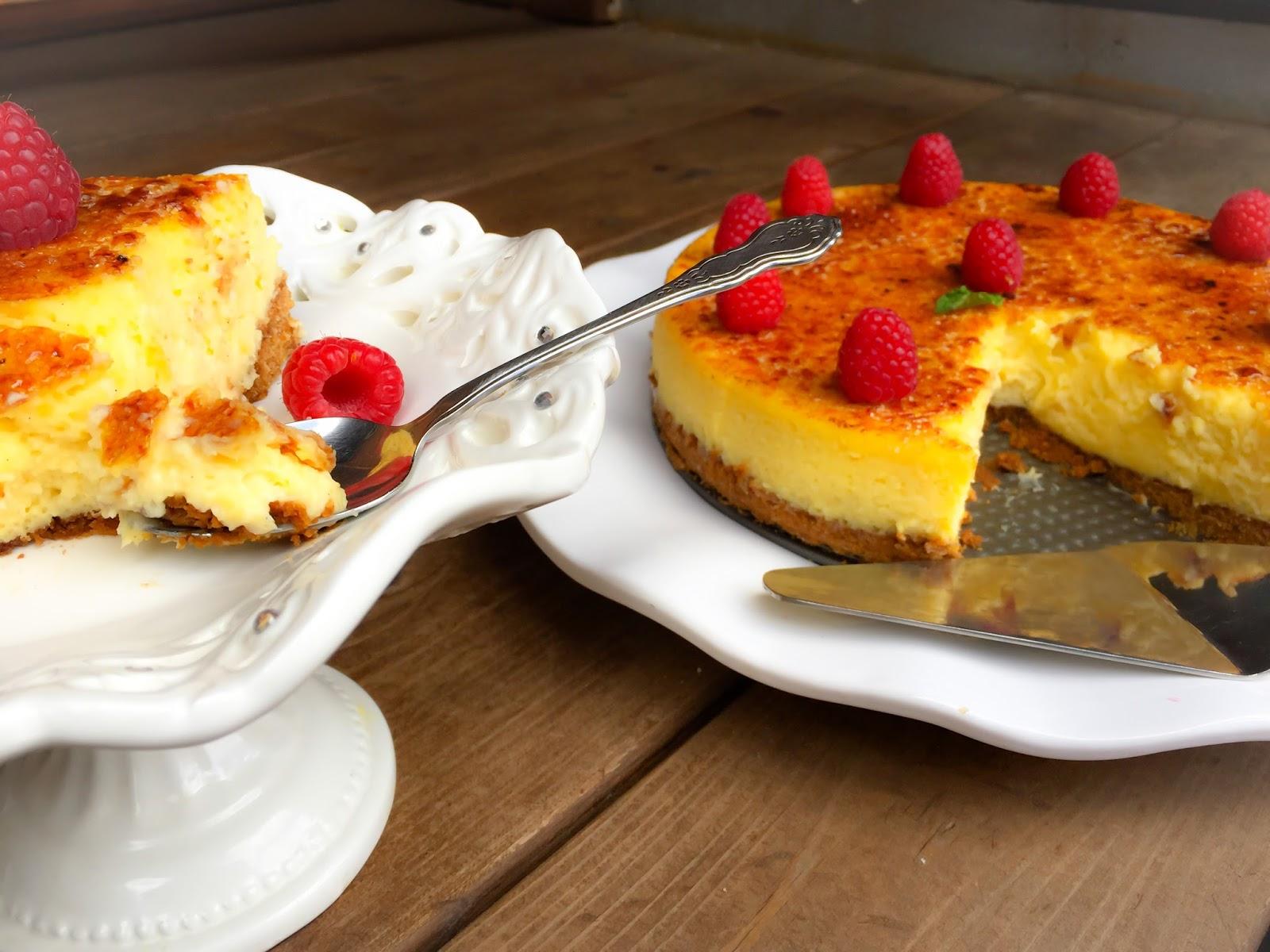 La fabrique gourmande cheesecake cr me br l e for Allez cuisine translation